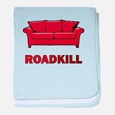 """Roadkill"" baby blanket"