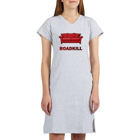"""""""Roadkill"""" Women's Nightshirt"""