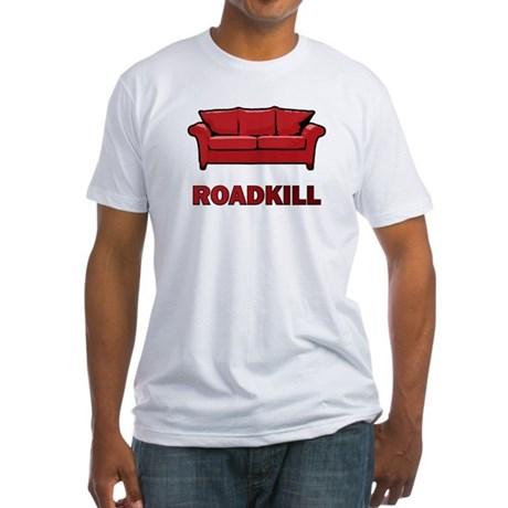 """""""Roadkill"""" Fitted T-Shirt"""