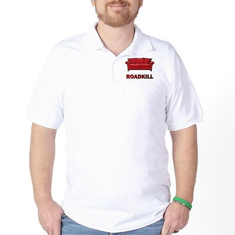 """""""Roadkill"""" Golf Shirt"""