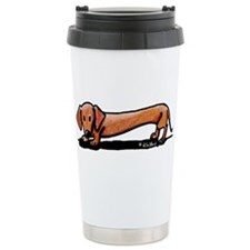 Lil' Red Dachsie Travel Mug