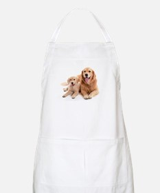 Golden retriever buddies Apron