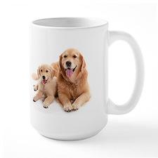 Golden retriever buddies Ceramic Mugs
