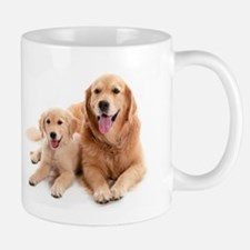 Golden retriever buddies Mug