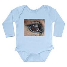Horse Eye Long Sleeve Infant Bodysuit
