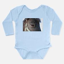 Pony Long Sleeve Infant Bodysuit