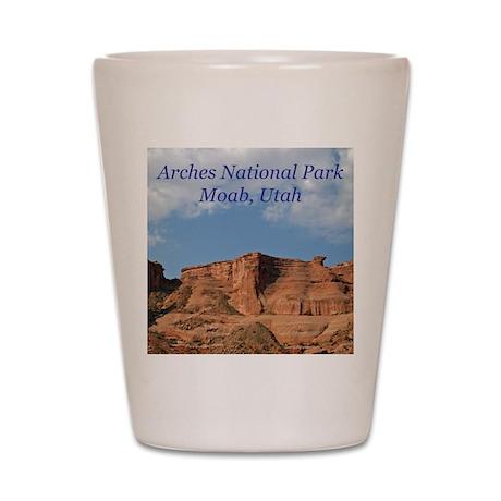 Arches National Park Apparel Shot Glass