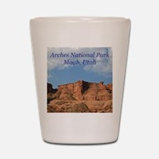 Arches National Park Apparel Shot Glass