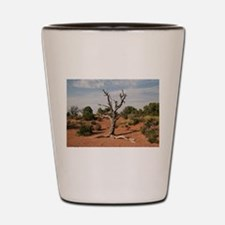 Dead Tree, Moab, UT Shot Glass