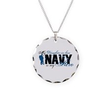 Daughter Law Hero3 - Navy Necklace