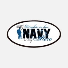 Daughter Law Hero3 - Navy Patches