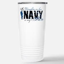 Daughter Law Hero3 - Navy Travel Mug