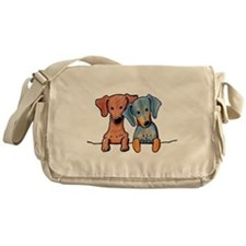 Pocket Doxie Duo Messenger Bag