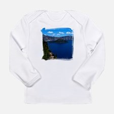 Crater Lake Wizard Island Long Sleeve Infant T-Shi
