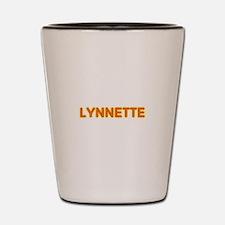 Lynnette in Movie Lights Shot Glass