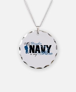 Daughter Hero3 - Navy Necklace