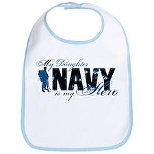 Daughter Hero3 - Navy Bib