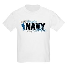 Daughter Hero3 - Navy T-Shirt