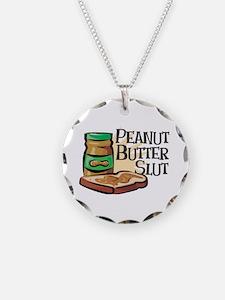 Peanut Butter Slut Necklace