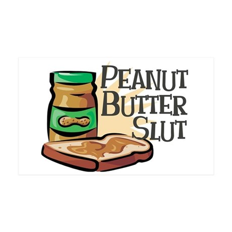 Peanut Butter Slut 38.5 x 24.5 Wall Peel