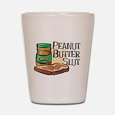 Peanut Butter Slut Shot Glass