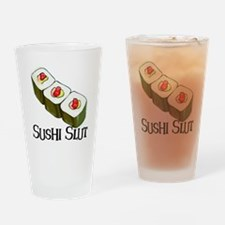 Sushi Slut Drinking Glass