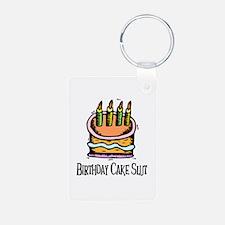 Birthday Cake Slut Keychains