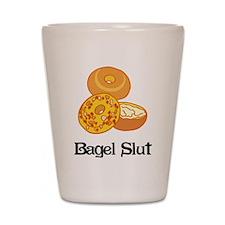 Bagel Slut Shot Glass