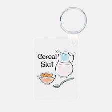 Cereal Slut Keychains