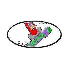 Snowboard Slut Patches