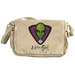 Alien Slut Messenger Bag