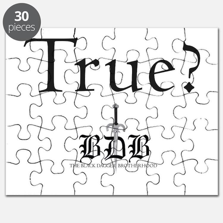 True? BDB Logo Puzzle