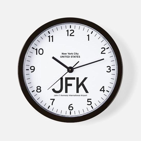 New York JFK Airport Newsroom Wall Clock