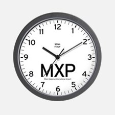 Milan MXP Airport Newsroom Wall Clock