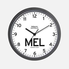 Melbourne MEL Airport Newsroom Wall Clock