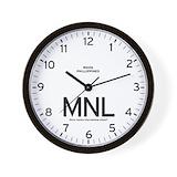 Manila clock Wall Clocks