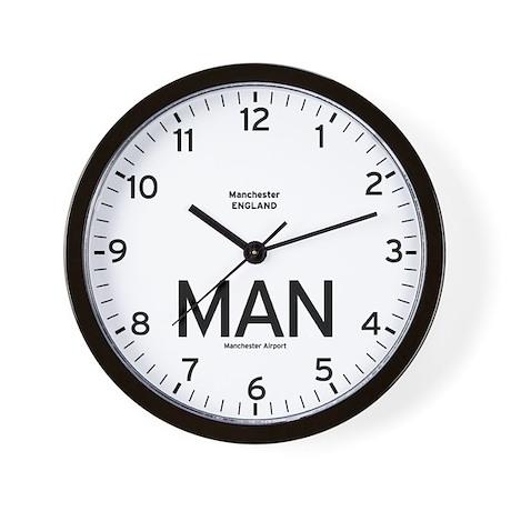 Manchester MAN Airport Newsroom Wall Clock