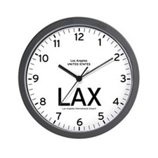 Los Angeles LAX Airport Newsroom Wall Clock