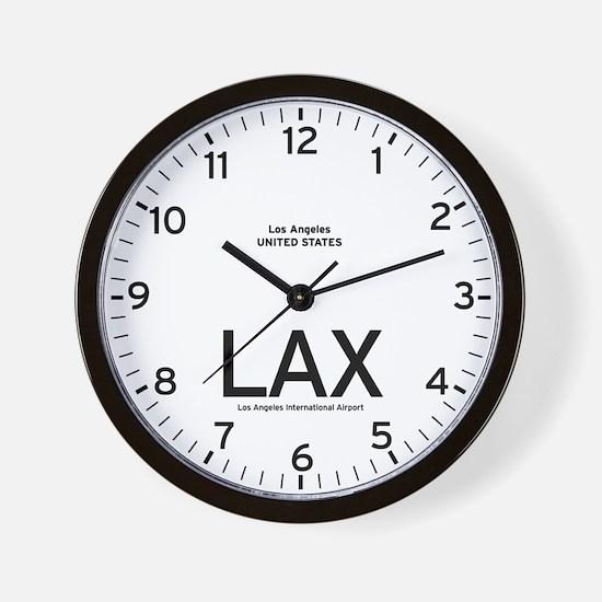 Los Angeles LAX Airport Newsroom Wall Clock