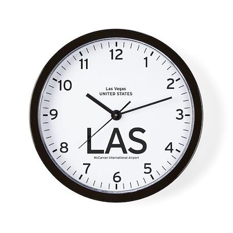Las Vegas LAS Airport Newsroom Wall Clock