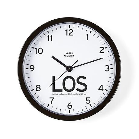 Lagos LOS Airport Newsroom Wall Clock