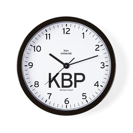 Kiev KBP Airport Newsroom Wall Clock