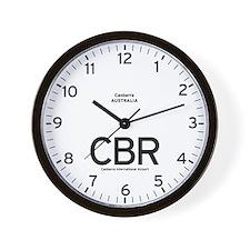 Canberra CBR Airport Newsroom Wall Clock