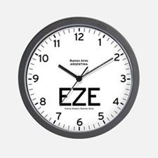 Buenos Aires EZE Airport Newsroom Wall Clock