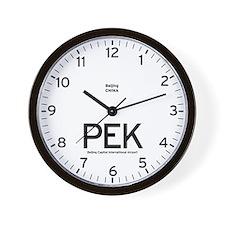 Beijing PEK Airport Newsroom Wall Clock