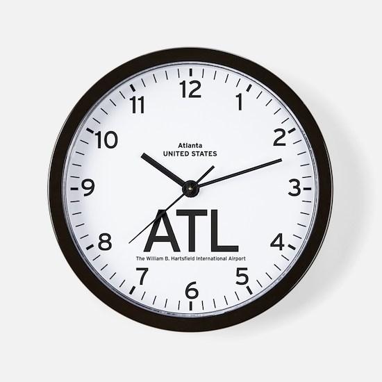 Atlanta ATL Airport Newsroom Wall Clock