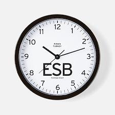 Ankara ESB Airport Newsroom Wall Clock
