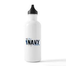 Dad Hero3 - Navy Water Bottle