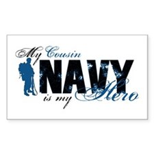 Cousin Hero3 - Navy Decal