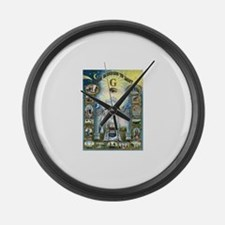 Darkness To Light Large Wall Clock